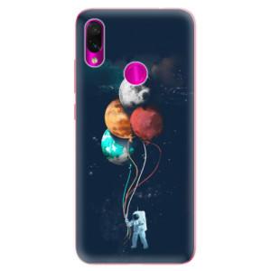 Silikonové odolné pouzdro iSaprio Balónky 02 na mobil Xiaomi Redmi Note 7