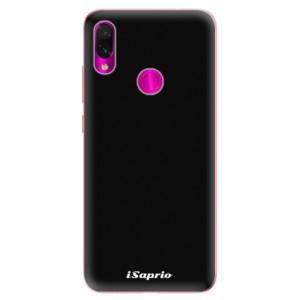 Silikonové odolné pouzdro iSaprio 4Pure černé na mobil Xiaomi Redmi Note 7