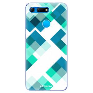 Silikonové odolné pouzdro iSaprio Abstract Squares 11 na mobil Honor View 20