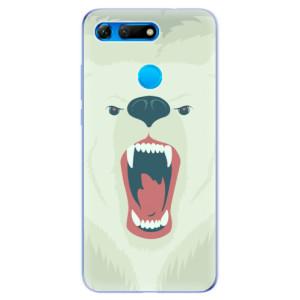 Silikonové odolné pouzdro iSaprio Naštvanej Medvěd na mobil Honor View 20