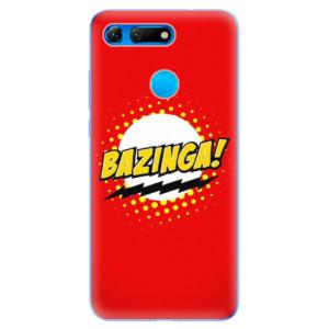 Silikonové odolné pouzdro iSaprio Bazinga 01 na mobil Honor View 20