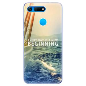 Silikonové odolné pouzdro iSaprio Beginning na mobil Honor View 20