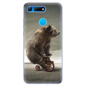 Silikonové odolné pouzdro iSaprio Medvěd 01 na mobil Honor View 20