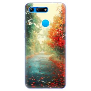 Silikonové odolné pouzdro iSaprio Podzim 03 na mobil Honor View 20
