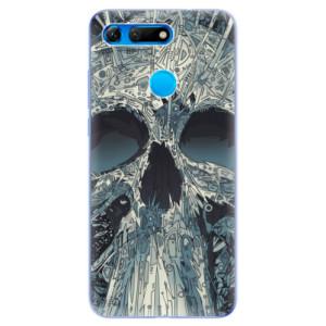 Silikonové odolné pouzdro iSaprio Abstract Skull na mobil Honor View 20