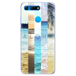 Silikonové odolné pouzdro iSaprio Aloha 02 na mobil Honor View 20