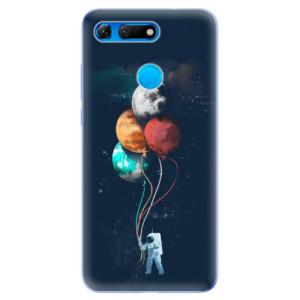 Silikonové odolné pouzdro iSaprio Balónky 02 na mobil Honor View 20