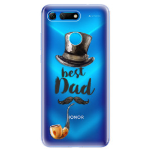 Silikonové odolné pouzdro iSaprio Best Dad na mobil Honor View 20