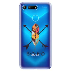 Silikonové odolné pouzdro iSaprio BOHO na mobil Honor View 20