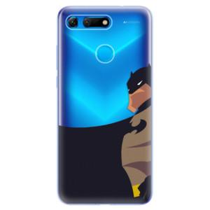 Silikonové odolné pouzdro iSaprio BaT Komiks na mobil Honor View 20
