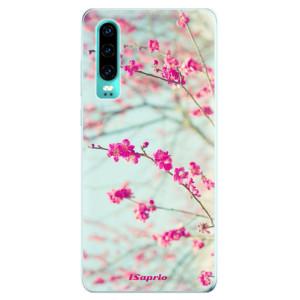 Silikonové odolné pouzdro iSaprio Blossom 01 na mobil Huawei P30