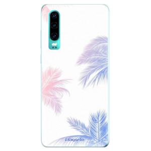 Silikonové odolné pouzdro iSaprio Palmy 10 na mobil Huawei P30