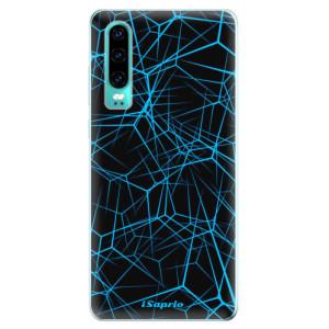 Silikonové odolné pouzdro iSaprio Abstract Outlines 12 na mobil Huawei P30