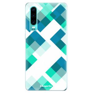 Silikonové odolné pouzdro iSaprio Abstract Squares 11 na mobil Huawei P30