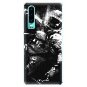 Silikonové odolné pouzdro iSaprio Astronaut 02 na mobil Huawei P30