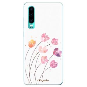 Silikonové odolné pouzdro iSaprio Květinky 14 na mobil Huawei P30 - poslední kousek za tuto cenu