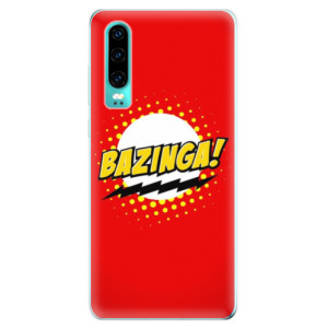 Silikonové odolné pouzdro iSaprio Bazinga 01 na mobil Huawei P30