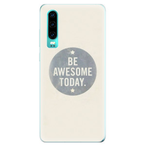 Silikonové odolné pouzdro iSaprio Awesome 02 na mobil Huawei P30