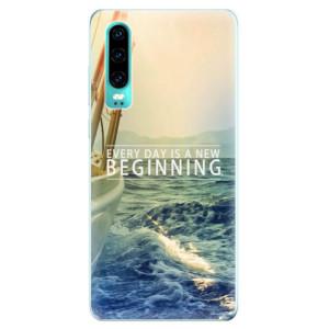 Silikonové odolné pouzdro iSaprio Beginning na mobil Huawei P30
