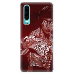 Silikonové odolné pouzdro iSaprio Bruce Lee na mobil Huawei P30