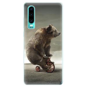 Silikonové odolné pouzdro iSaprio Medvěd 01 na mobil Huawei P30