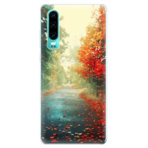 Silikonové odolné pouzdro iSaprio Podzim 03 na mobil Huawei P30