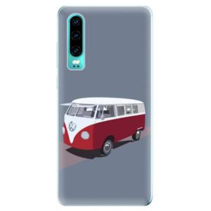 Silikonové odolné pouzdro iSaprio VW Bus na mobil Huawei P30