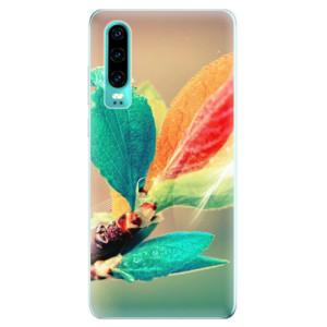 Silikonové odolné pouzdro iSaprio Podzim 02 na mobil Huawei P30