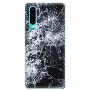 Silikonové odolné pouzdro iSaprio Praskliny na mobil Huawei P30