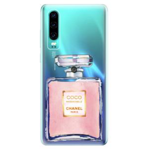 Silikonové odolné pouzdro iSaprio Chanel Rose na mobil Huawei P30