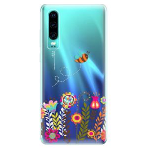 Silikonové odolné pouzdro iSaprio Včelka Pája 01 na mobil Huawei P30