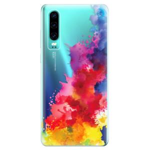 Silikonové odolné pouzdro iSaprio Color Splash 01 na mobil Huawei P30