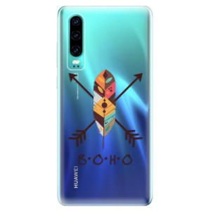 Silikonové odolné pouzdro iSaprio BOHO na mobil Huawei P30