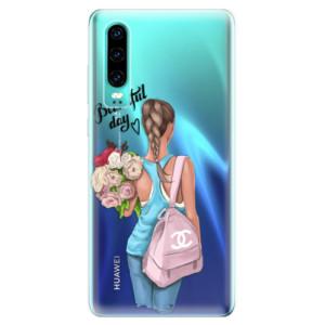 Silikonové odolné pouzdro iSaprio Beautiful Day na mobil Huawei P30
