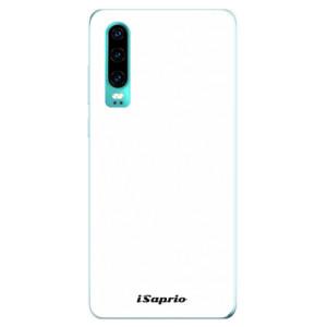 Silikonové odolné pouzdro iSaprio 4Pure bílé na mobil Huawei P30