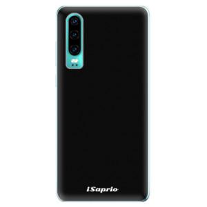 Silikonové odolné pouzdro iSaprio 4Pure černé na mobil Huawei P30