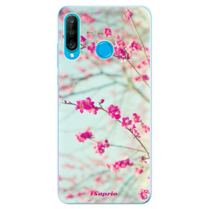 Silikonové odolné pouzdro iSaprio Blossom 01 na mobil Huawei P30 Lite