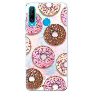 Silikonové odolné pouzdro iSaprio Donutky Všude 11 na mobil Huawei P30 Lite - poslední kus za tuto cenu