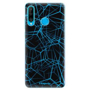 Silikonové odolné pouzdro iSaprio Abstract Outlines 12 na mobil Huawei P30 Lite