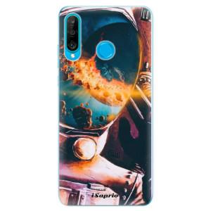 Silikonové odolné pouzdro iSaprio Astronaut 01 na mobil Huawei P30 Lite