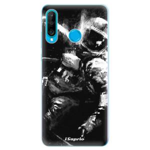 Silikonové odolné pouzdro iSaprio Astronaut 02 na mobil Huawei P30 Lite