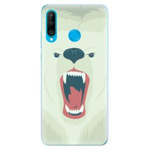Silikonové odolné pouzdro iSaprio Naštvanej Medvěd na mobil Huawei P30 Lite