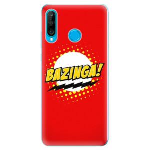 Silikonové odolné pouzdro iSaprio Bazinga 01 na mobil Huawei P30 Lite