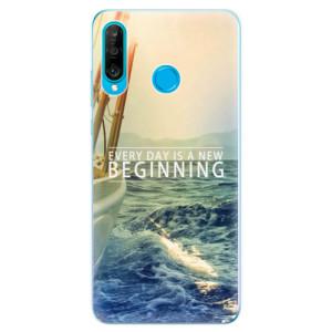 Silikonové odolné pouzdro iSaprio Beginning na mobil Huawei P30 Lite