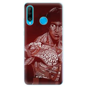 Silikonové odolné pouzdro iSaprio Bruce Lee na mobil Huawei P30 Lite