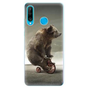Silikonové odolné pouzdro iSaprio Medvěd 01 na mobil Huawei P30 Lite