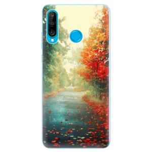 Silikonové odolné pouzdro iSaprio Podzim 03 na mobil Huawei P30 Lite