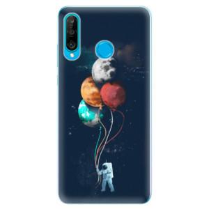 Silikonové odolné pouzdro iSaprio Balónky 02 na mobil Huawei P30 Lite