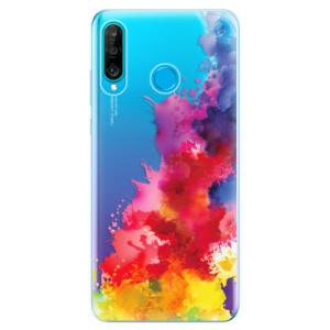 Silikonové odolné pouzdro iSaprio Color Splash 01 na mobil Huawei P30 Lite
