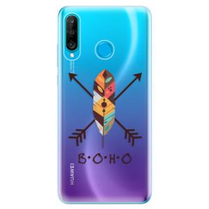 Silikonové odolné pouzdro iSaprio BOHO na mobil Huawei P30 Lite